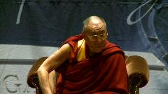 politics and protest, Dalai Lama speaks part 30 - stock footage