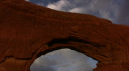 Stock Video Footage of Arches 9 North Window Arch Loop