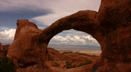 Stock Video Footage of Arches 12 Double O Arch Loop