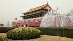 Stock Video Footage of Beijing Tiananmen