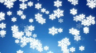Winter snow loop Stock Footage
