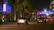 Stock Video Footage of Traffic on Las Vegas Blvd (2 of 3)