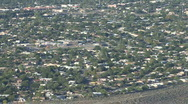 View Above Albuquerque Stock Footage