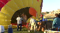 Hot Air Balloon's Propane Burner HD Footage