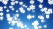 Snow winter background Stock Footage
