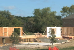 Stock Video Footage of House Construction Time Lapse