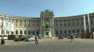 Stock Video Footage of Hofburg Palace in Vienna, Austria