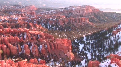 Bryce Canyon- Long Pan - stock footage