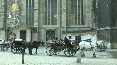 Vienna, Capital of Austria in Europe Stock Footage