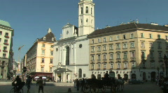 Vienna, Capital of Austria in Europe - stock footage