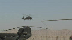 Black Hawk Flyby (HD) c Stock Footage
