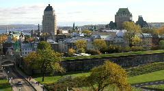 Old Quebec - stock footage