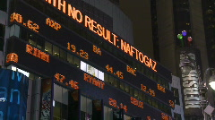 Financial stock market Stock Footage