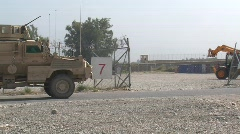 MRAP in Afghanistan (HD) c Stock Footage