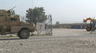 Stock Video Footage of MRAP in Afghanistan (HD) c