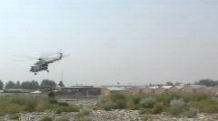 MI-17 takeoff  Stock Footage