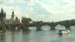 Prague, Capital of Czech Republic in Eastern Europe - stock footage