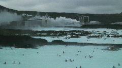 Blue Lagoon, Svartsengi, Iceland - stock footage