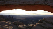 Stock Video Footage of Canyonlands 4 Time Lapse x15 Mesa Arch Sunrise