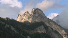 Swiss Alps in Switzerland, Europe - stock footage