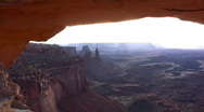 Stock Video Footage of Canyonlands 6 Time Lapse x30 Mesa Arch Sunrise