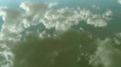 Time Lapse Cloud Water Reflection Stock Footage
