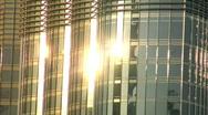 Burj Khalifa Dubai speed ramp stars Stock Footage