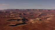 Stock Video Footage of Canyonlands 9 Time Lapse x40 Green River Overlook