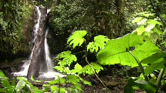 Waterfall in the Nambillo Valley Stock Footage