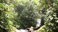 Stock Video Footage of Waterfall in the Nambillo Valley