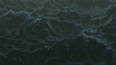 Stormy Sea with lightning. CG. HD. - stock footage