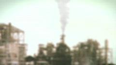 Dead sea factories 6 Stock Footage