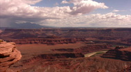 Colorado River Dead Horse Point 2 Time Lapse x20 Stock Footage