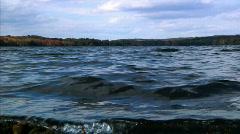 Autumn Lake 1057 Stock Footage