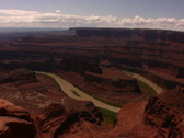 Stock Video Footage of Colorado River Dead Horse Point 1 Time Lapse x20
