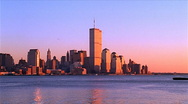 Stock Video Footage of New York Sunset World Trade Center 480x270