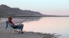 The fisherman 3 Stock Footage