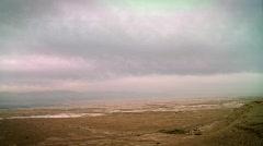 Dead sea landscape 2 Stock Footage
