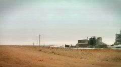 Dead sea factories 4 Stock Footage