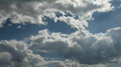 Timelapse clouds 03 - stock footage