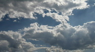 Stock Video Footage of Timelapse clouds 03
