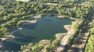 Lake & Trees Stock Footage
