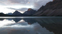 Canada: Bow Lake Stock Footage