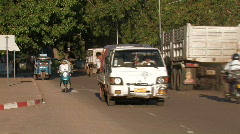 Laos: Street Shots Stock Footage