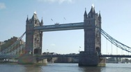 Stock Video Footage of HD720p London. Tower Bridge.