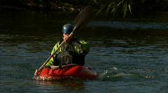 Kayak Playboat Slow Motion Cartwheel 20 29.97 Stock Footage