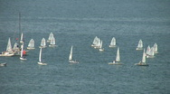 Stock Video Footage of Small boats sailing in the Adriatic Sea Croatia
