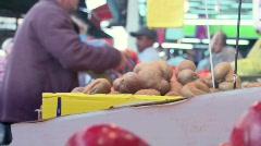 Market 6 Stock Footage