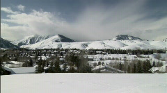 Idaho Sun Valley Ski Resort in Winter 23.98 Stock Footage