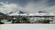 Stock Video Footage of Idaho Sun Valley Ski Resort in Winter 23.98